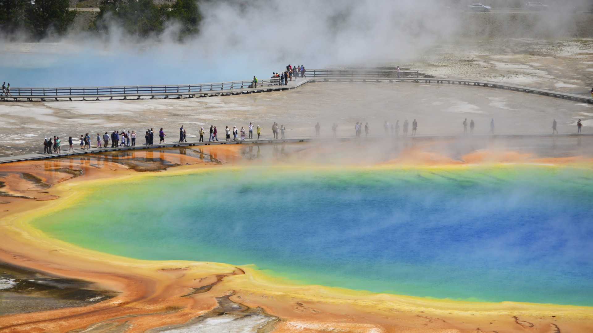 Yellowstone National Park opens May 13.