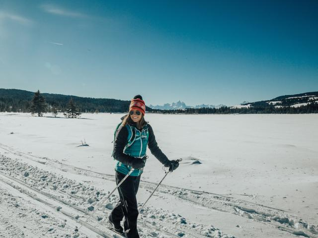 Cross-Country Skiing at Turpin Meadow Ranch